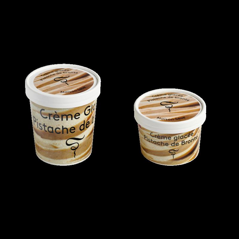 Crème glacée Pistache de Bronté 220ml