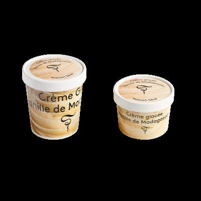 Crème glacée Vanille de Madagascar 220ml