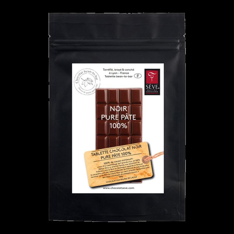 Tablette Noir 100% cacao