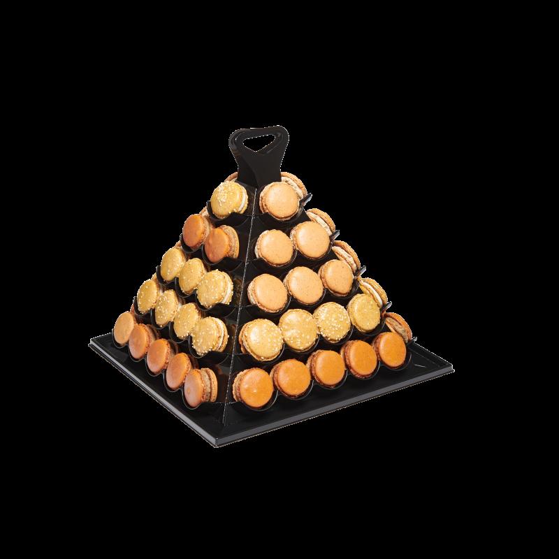 Macarons salés pyramide moderne