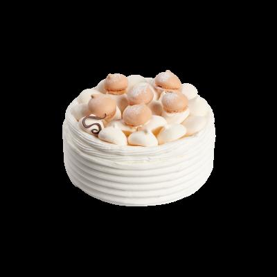 Vacherin vanille/chocolat