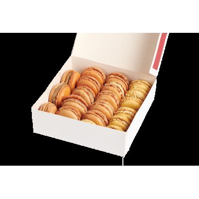 Macarons salés boîte pâtissière